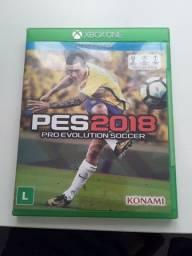 Xbox ONE   Pes 2018 Edição Premium bem conservado
