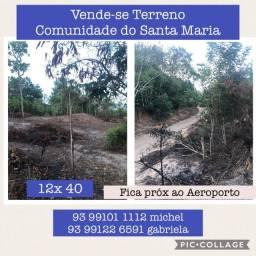 Terreno na Comunidade do Santa Maria