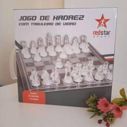 xadrez de vidro novo