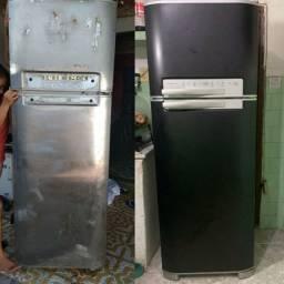 Transforme sua geladeira com @hlreformas
