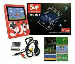 Game Sup 400 jogos mais controle auxiliar
