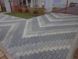 Colocação de paver construção em geral