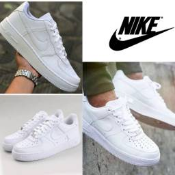 Tênis estilo clássico Nike Air Force unissex Durável Confortável esportivo