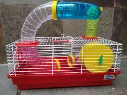 Gaiola Para Hamster Semi Nova