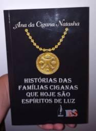 Novo livro de Ana da Cigana Natasha