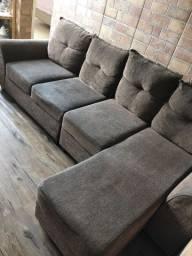 Sofa com chese + Puff
