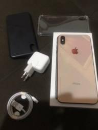iPhone XS Max Gold novo garantia loja  física