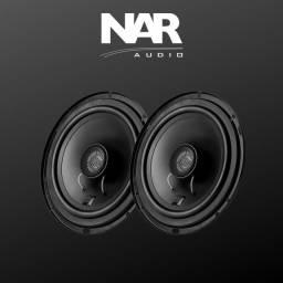 Alto falante Coaxial NAR 600CX1 ( 6 Pol / 100w Rms ) Alta Qualidade Sonora