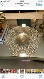 Centro de mesa com cristais