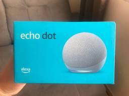 Novo Echo Dot (4ª Geração): Smart Speaker com Alexa - Cor Cinza