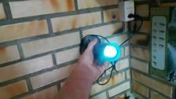 Filtro com lâmpada Uv e bomba