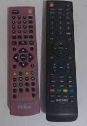 Vendo 2 controles de Tvs originais