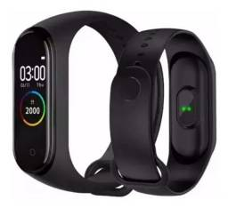 Pulseira Relógio Inteligente Smartband Smartwatch Cardíaco (pulseira gratis)
