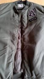 casaco importado marca urban generation 725 verde com aparencia de militar