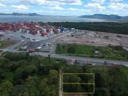 Terreno à venda, 614 m² por r$ 200.000,00 - santa terezinha - itapoá/sc