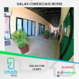 Salas Comerciais no Boulevard Mundi com 33m² (aceitamos cartão)