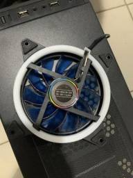 Cooler Fan led azul