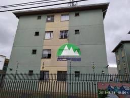 Apartamento à venda, 45 m² por r$ 125.000,00 - sítio cercado - curitiba/pr