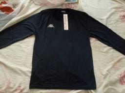 Camisa térmica azul marinho da marca KAPPA