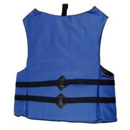 Colete Salva-vidas Mor 80kg 3 Fivelas Proteção Frete Grátis