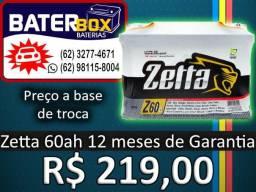 Bateria Master 60ah na promoção Selada com 12 Meses Garantia