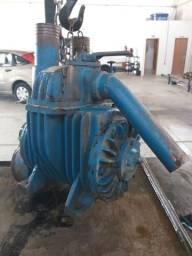 Bomba de vácuo compressor de palhetas