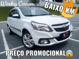 E1 Agile Ltz 1.4 2014 Completo Branco Baixo Km - 2014