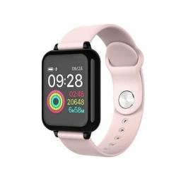 Relógio inteligente smartwatch B57 Hero Band 3 rosa