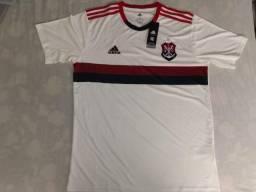 Camisa Branca Do Flamengo Oficial - G