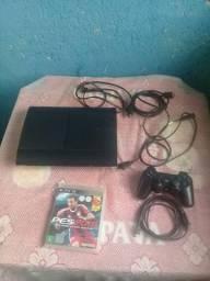 Play Station 3 Super Slim HD 500GB R$ 750,00