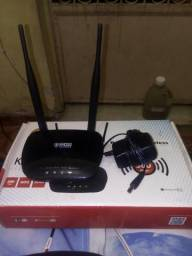 Roteador wireless cross elegance 2 antenas