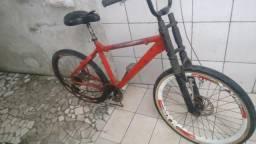Bicicleta do jeito que ta