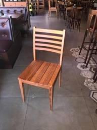 Cadeira madeira angelim pedra