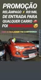 Showroom! A LOJA DO POVÃO R$1MIL DE ENTRADA(ECOSPORT FREESTYLE 1.6 2014)