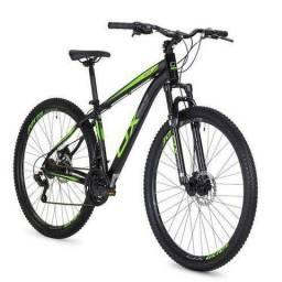 5ba3abe0f Bicicleta Mtb Oggi Hard Glide Aro 29 Freio A Disco 2018 - Preto E Verde Foto