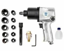 Chave de Impacto pneumática  profissional 680N