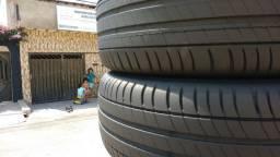 Vendo 2 pneus aro 215/55/17 michellan primace 3