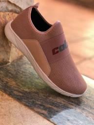 Sapatênis rosa