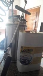 Pulverizador Guarany inox para impermeabilização + produto