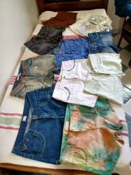 Lote short jeans 36 ao 46