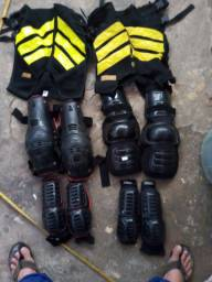 Kit proteção motoboy
