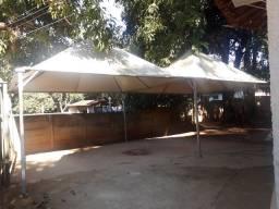 Vendo ou troco trailer e com tenda piramidal