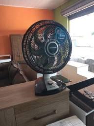Ventilador mondial turbo com 3 velocidades 6 paletas de com 30 cm