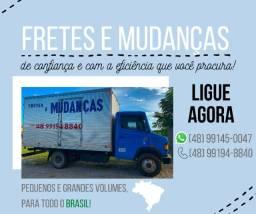 Fretes e Mudanças para todo Brasil