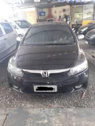 Honda- civic lxs flex 2007/2008 preto
