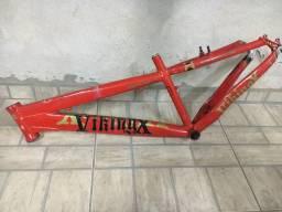 Vendo quadro de baike VikingX usado (tem nota )