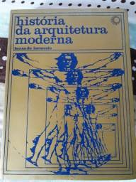Livro História da arquitetura moderna - Leonardo Benevolo