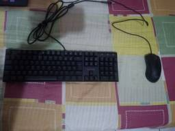 Kit Teclado e Mouse redragon semi novos