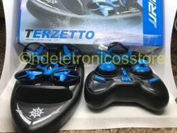 Seu filho merece Jjrc H36f Terzetto 3 Em 1 Drone Boat Car Modo De Água Modo