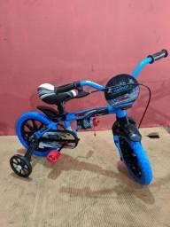 Bicicleta infantil nova 10x